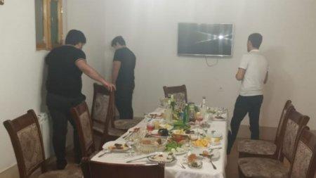 Bakıda karantin qaydalarını pozan daha bir restoran aşkarlandı – FOTOLAR
